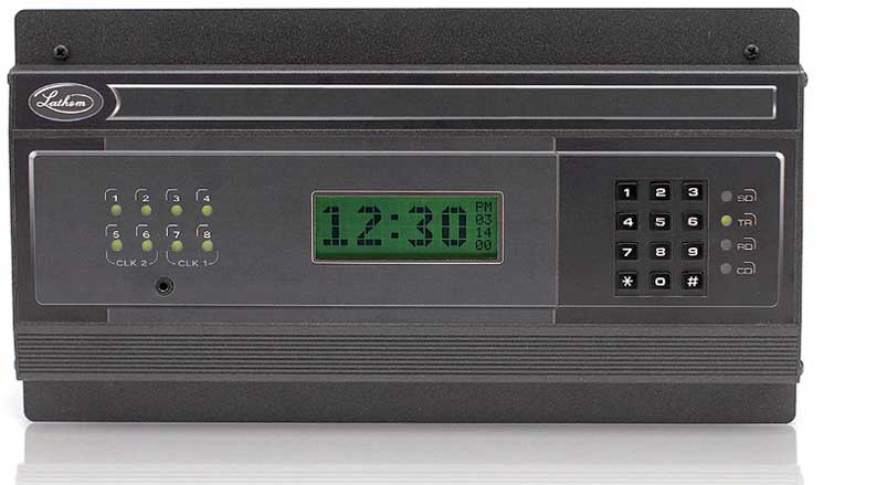 Wireless Master Clocks Discount Time Clocks Lathem